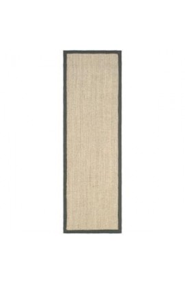 Safavieh Natural Fiber Marble/Grey 2 ft. 6 in. x 20 ft. Runner 205712928 NF443B-220